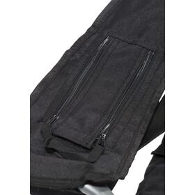 CAMPZ Deluxe Nojatuoli, black/grey